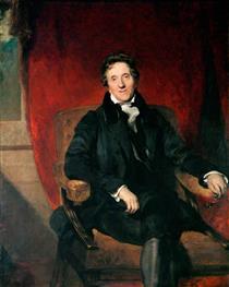 Sir John Soane, Aged 76 - Томас Лоуренс