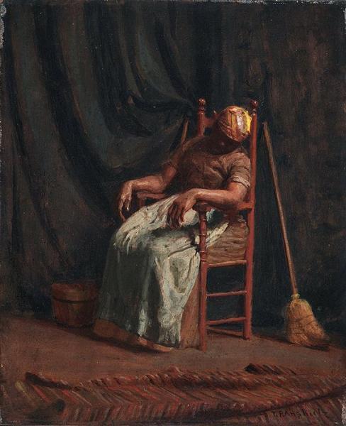 Aunt Hannah, 1886 - Томас Поллок Аншутц