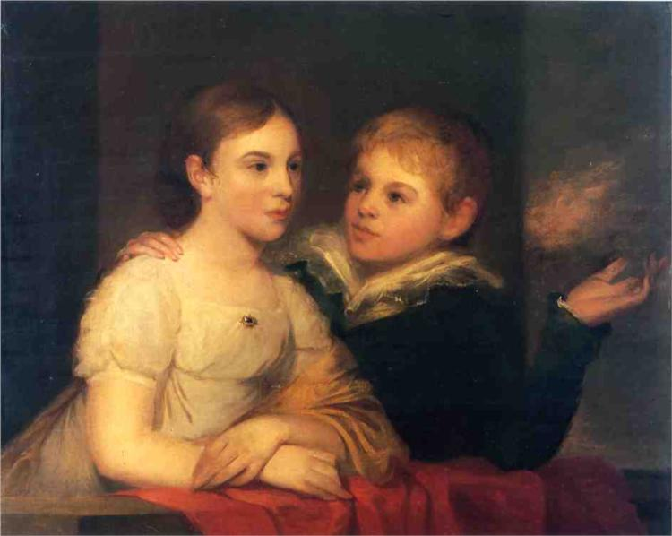 The Brinton Children - Thomas Sully