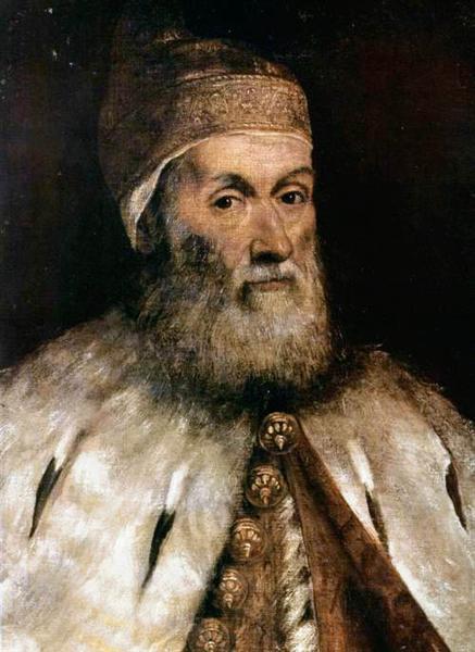 Doge Gerolamo Priuli Tintoretto - Tintoretto