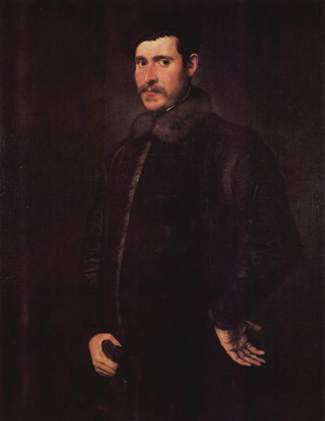 Portrait of a distinguished man, c.1550 - Tintoretto