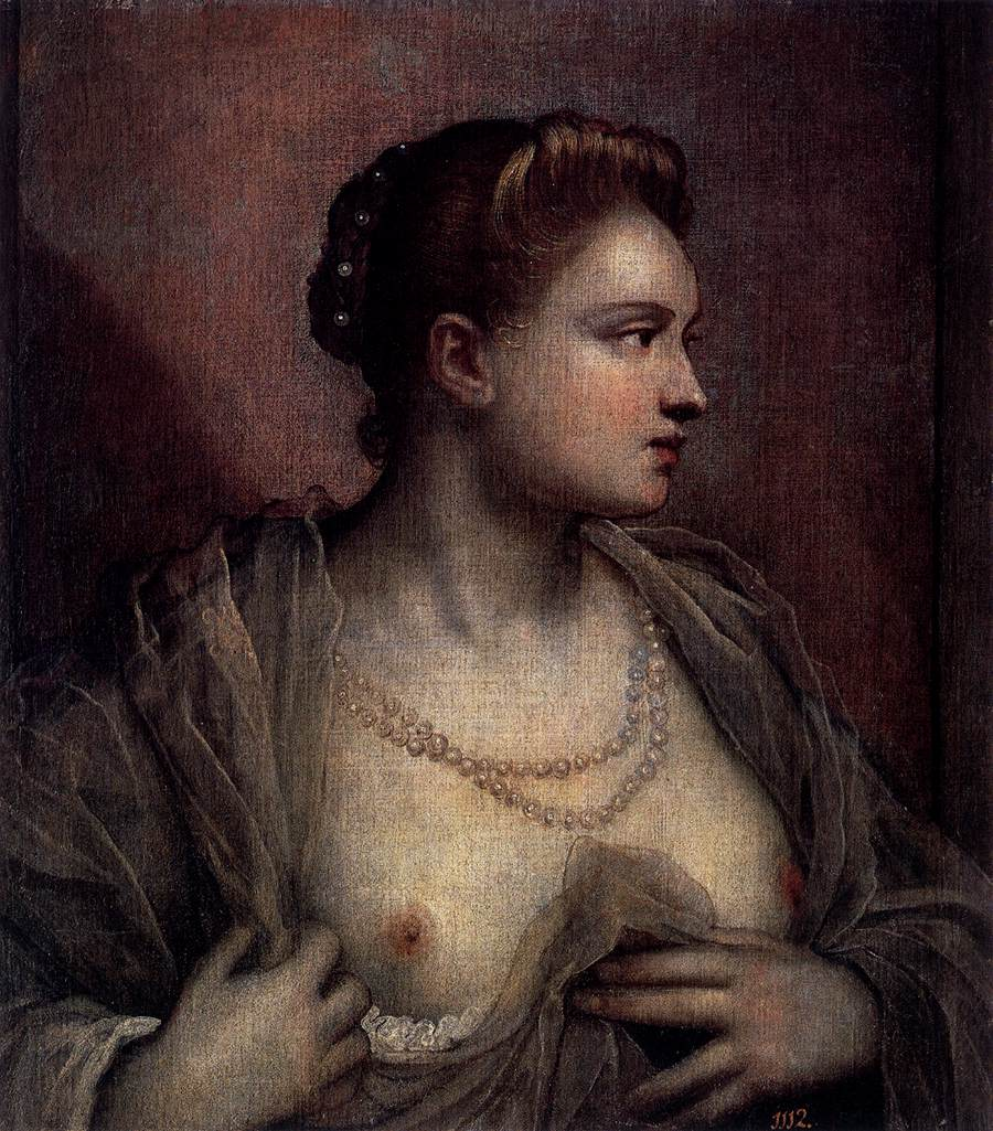 Portrait of a Woman Revealing Her Breasts, 1570