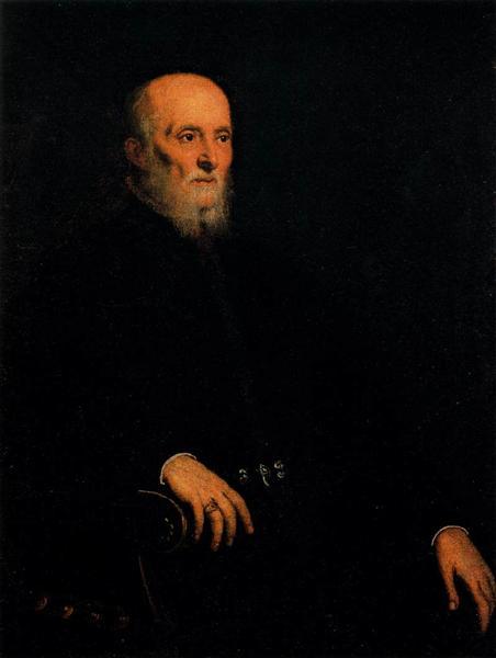 Portrait of Alvise Cornaro, 1560 - 1565 - Tintoretto
