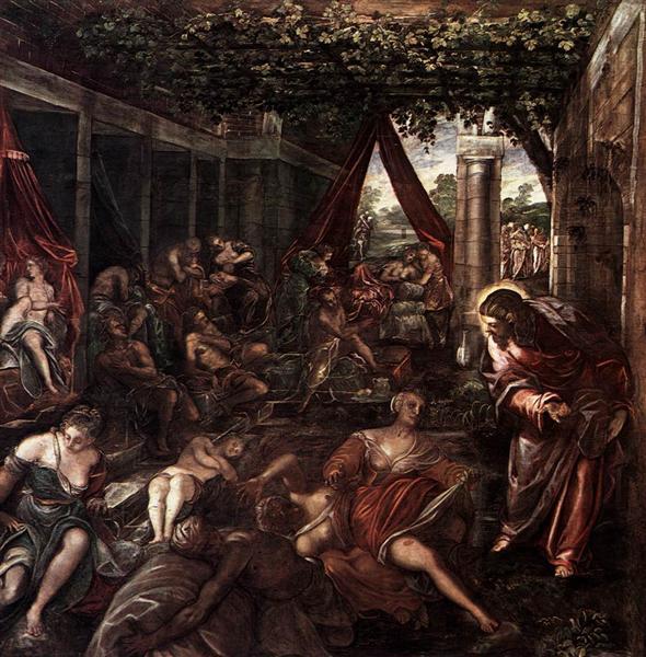 Probatica Piscina, 1579 - 1581 - Tintoretto