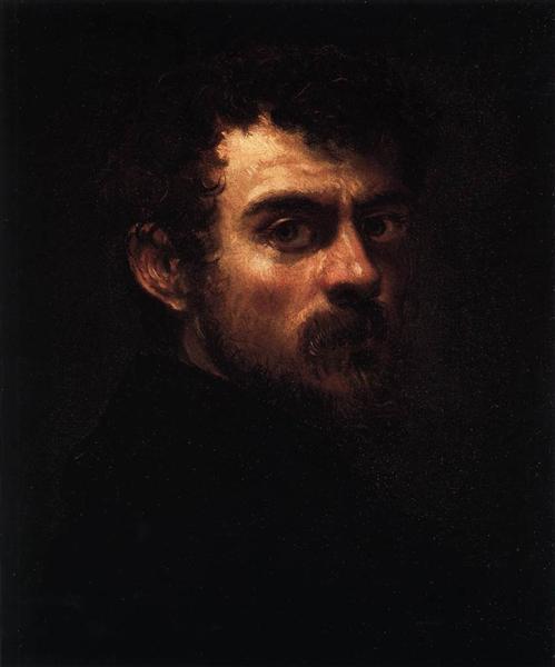Self Portrait, c.1547 - Tintoretto