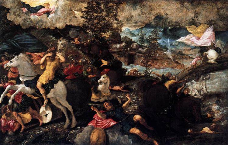 The Conversion of Saul, c.1545 - Tintoretto