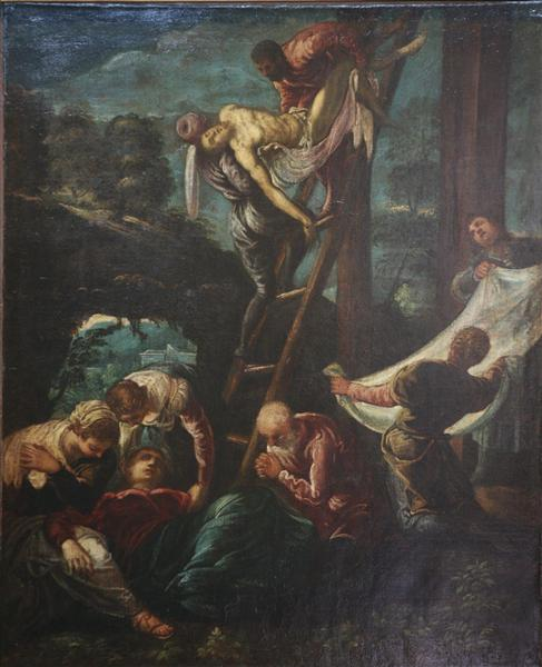 The descent from the Cross, c.1578 - 1580 - Tintoretto