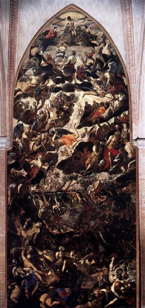 The Last Judgment, 1560 - 1562 - Tintoretto