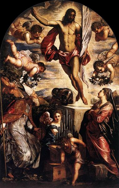 The Resurrection of Christ, 1565 - Tintoretto