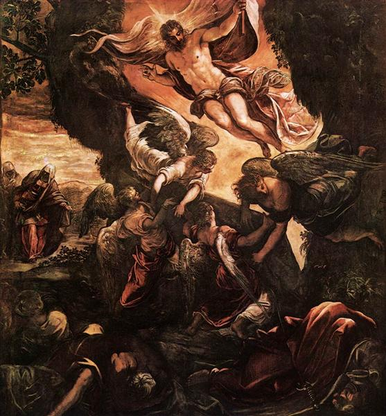 The Resurrection of Christ, 1579 - 1581 - Tintoretto