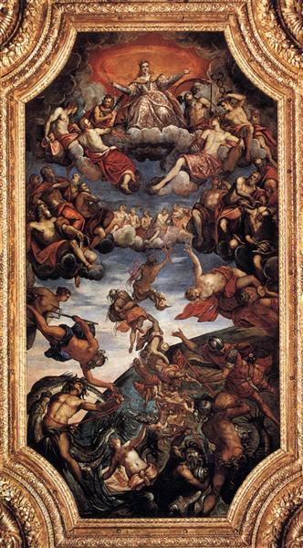 Triumph of Venice, 1584 - Jacopo Tintoretto