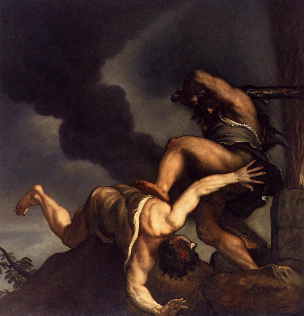 Cain and Abel, by Titian