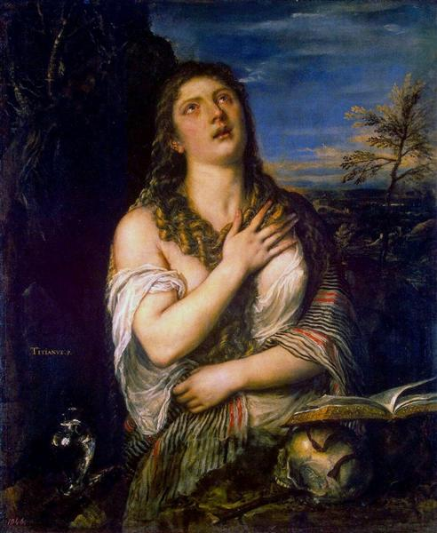 Penitent St. Mary Magdalene - Titian