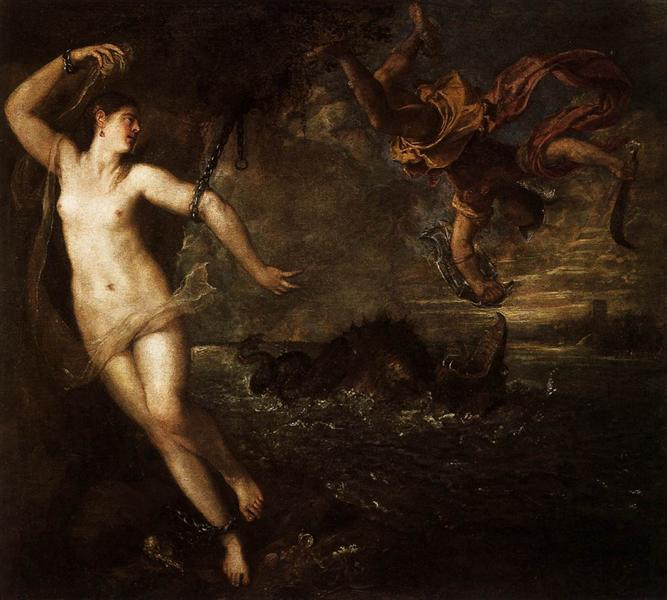 Perseus and Andromeda, 1554 - 1556 - Titian