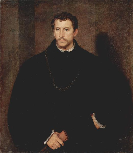 Portrait of a Young Man (The young Englishman), c.1545 - Titian