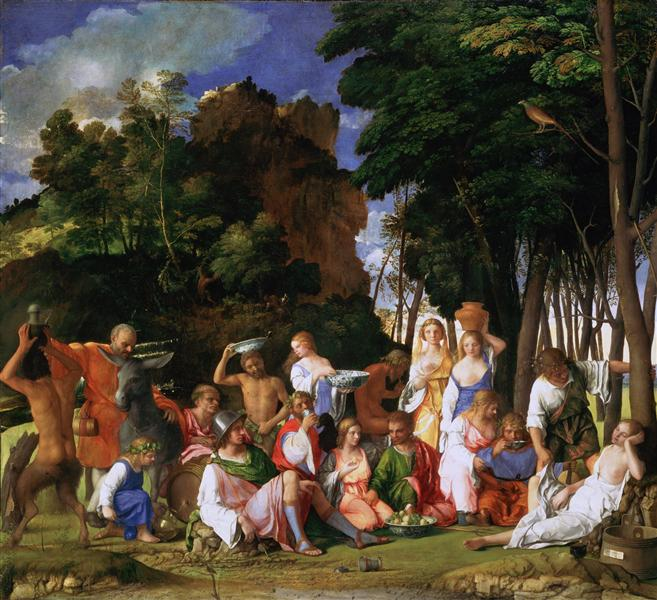 The Feast of the Gods, 1516 - 1529 - Titian