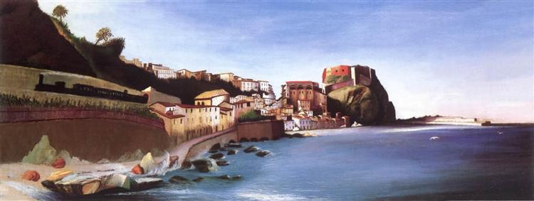 Town at the Seashore, 1902 - Tivadar Kosztka Csontvary