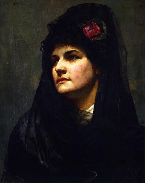 A Spanish Beauty, 1884 - Tom Roberts
