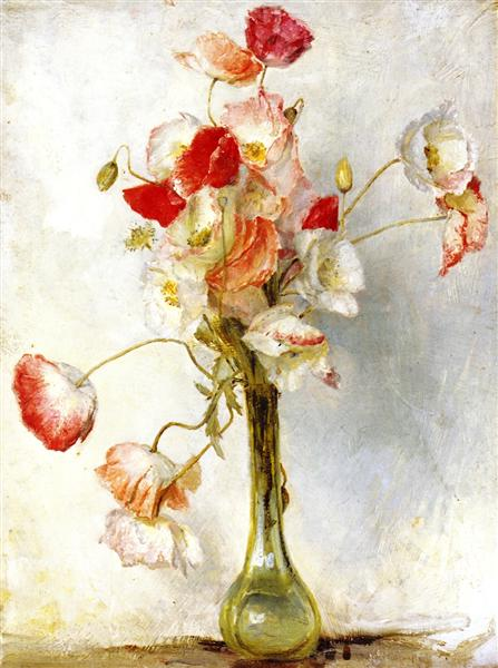 Poppies, 1921 - Tom Roberts