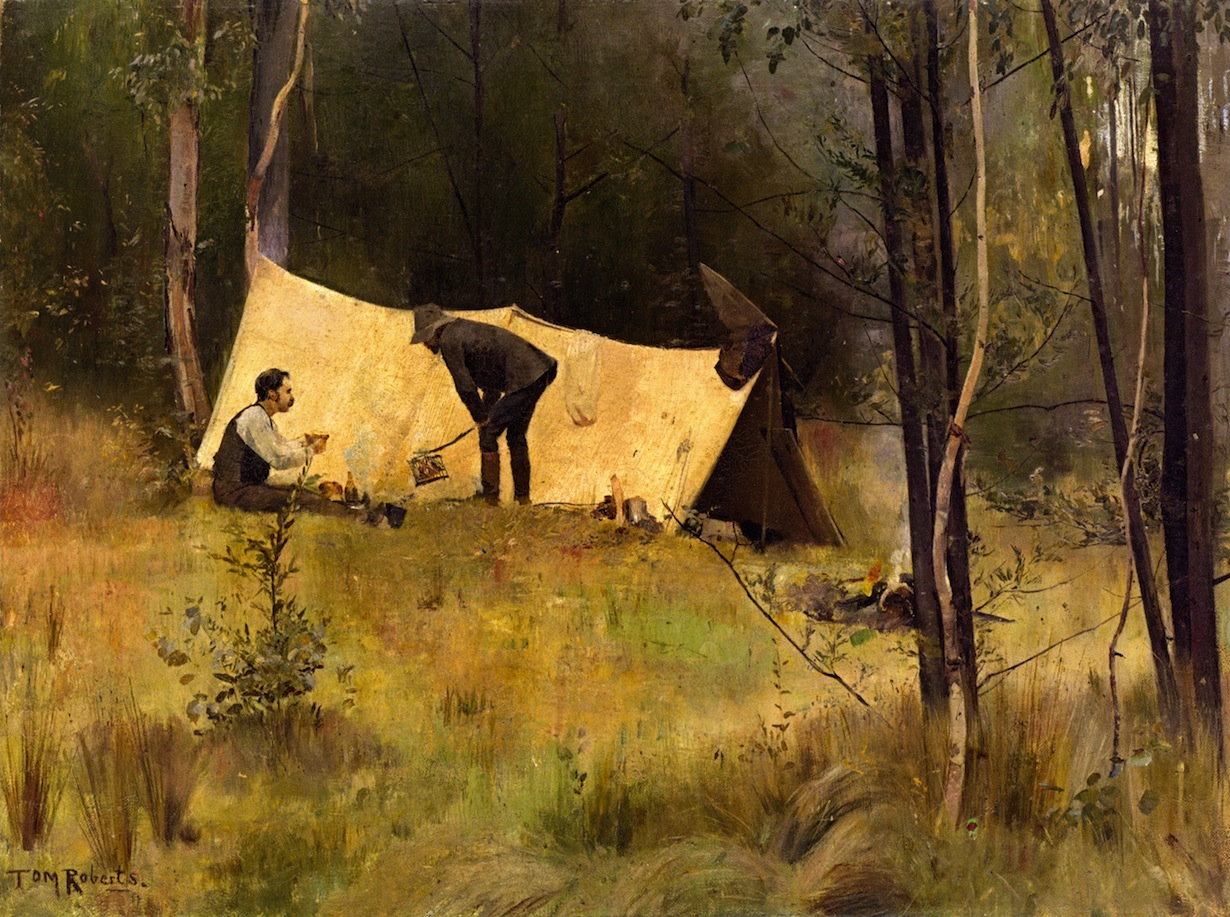 The Artist's Camp, 1886