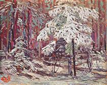 Snow in the Woods - Tom Thomson