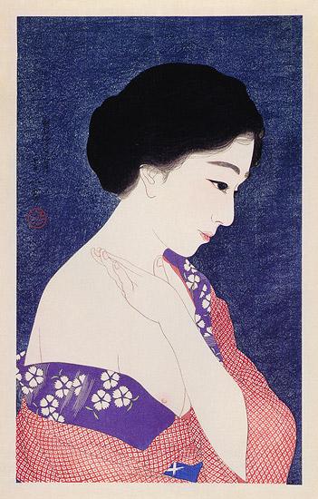 Applying Powder, 1929 - Torii Kotondo