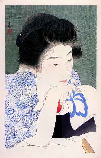 Waking, 1932 - Torii Kotondo