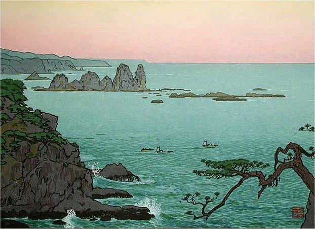 Irozaki, Morning, 1961 - Toshi Yoshida
