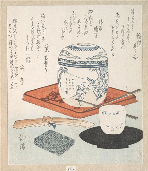 Tea Things - Toyota Hokkei
