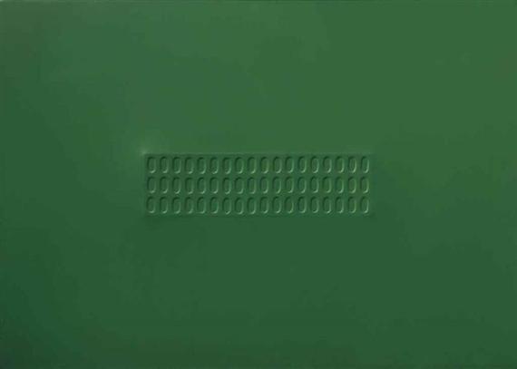 Superficie verde con ovali, 1966 - Турі Сіметі