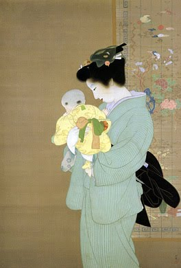 Mother and Child, 1934 - Uemura Shōen