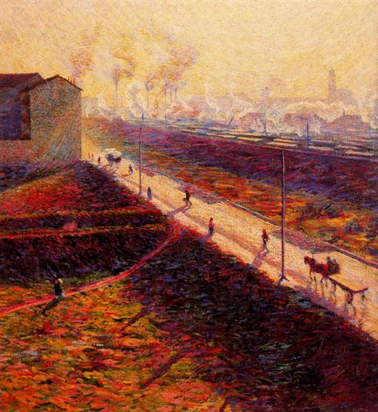 The Morning, 1909 - Umberto Boccioni