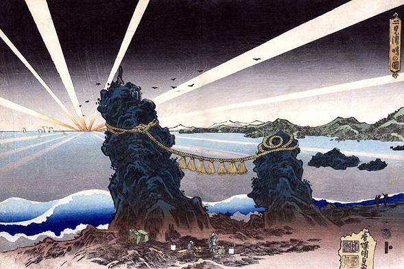 Seascape - Utagawa Kunisada