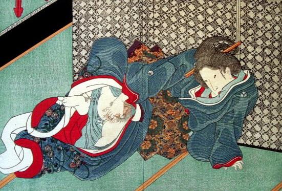 Surimono - Utagawa Kunisada