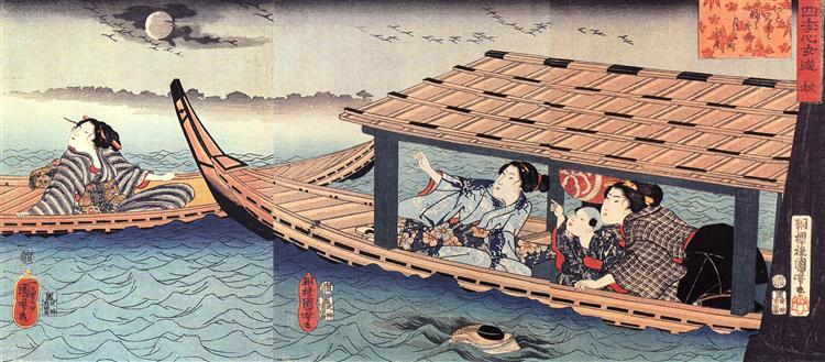 Autumn - Utagawa Kuniyoshi