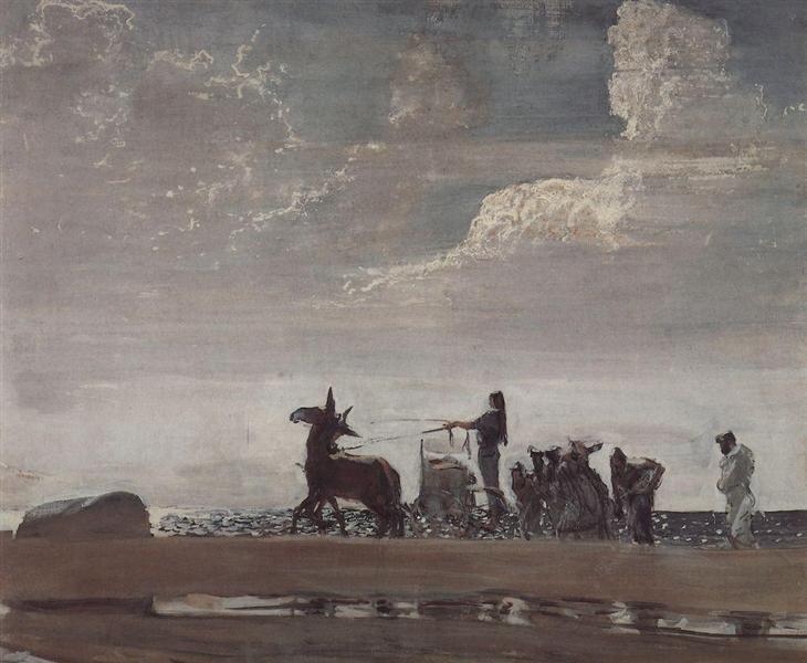 Odyssey and Nausicaa, 1910 - Valentin Serov