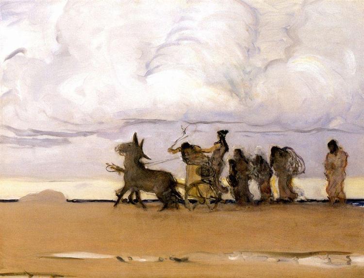 Odyssey and Nausicaa, 1910 - Walentin Alexandrowitsch Serow