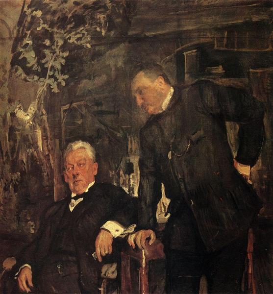 Portrait of Alexander Lensky and Alexander Yuzhin, 1908 - Valentin Serov