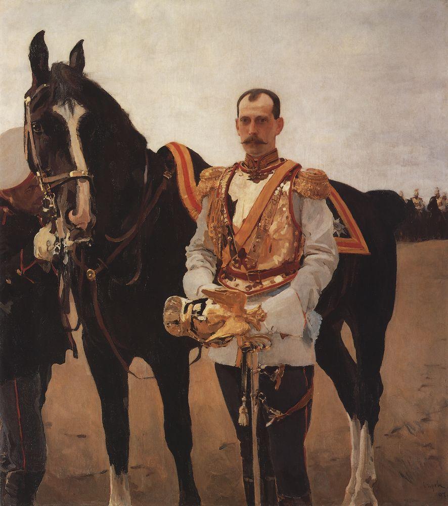 Портрет великого князя Павла Александровича - Валентин Серов ...