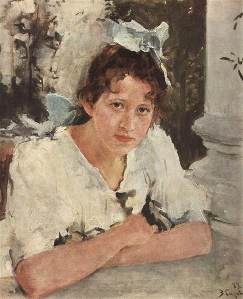 Portrait of Praskovya Mamontova, 1889 - Valentin Serov