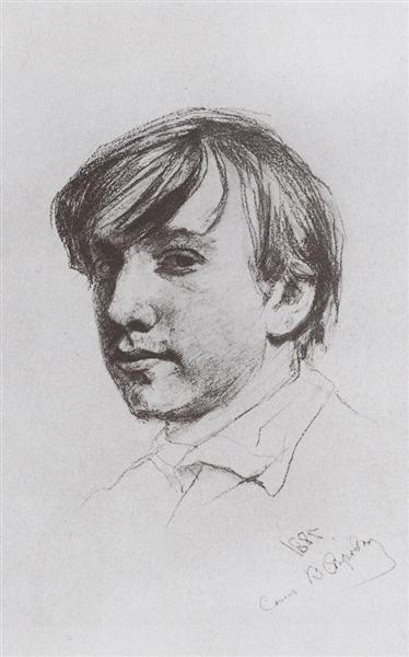 Self-Portrait, 1881 - Valentin Serov