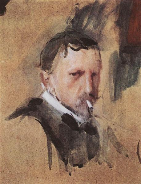 Автопортрет, 1901 - Валентин Серов
