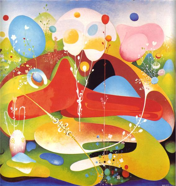Green Oasis, 1968 - Вангел Наумовскі