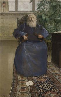 Portrait of Mkrtich Khrimyan - Vardges Sureniants