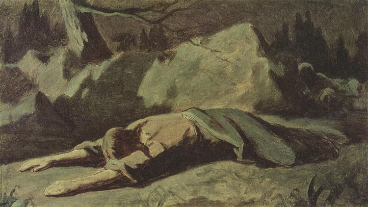 Christ in Gethsemane - Vasily Perov