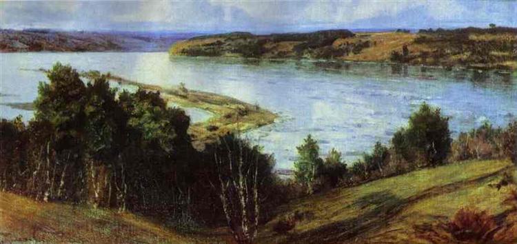 The River Oka, 1918 - Vasily Polenov