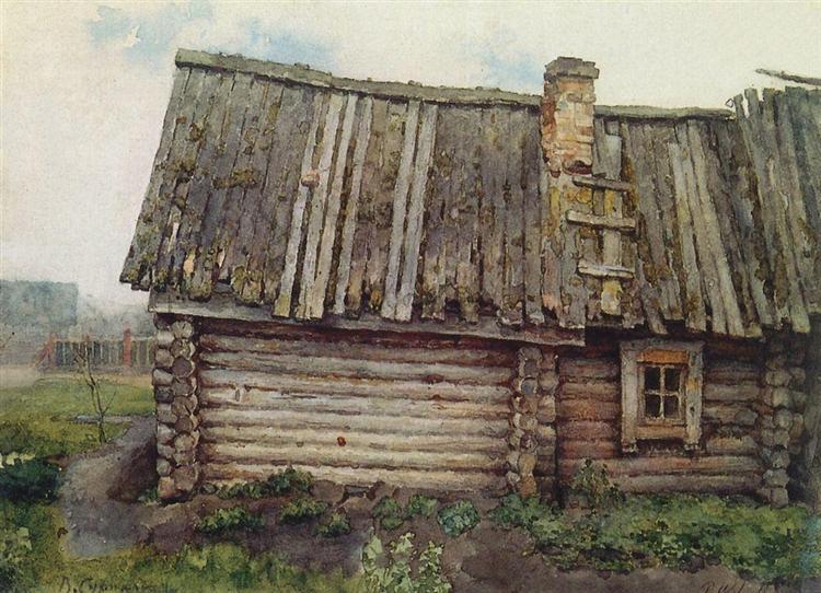 Isba, 1873 - Wassili Iwanowitsch Surikow