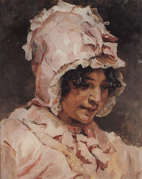 Italian woman, 1884 - Vasily Surikov