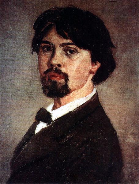 Self-Portrait, 1879 - Vasily Surikov