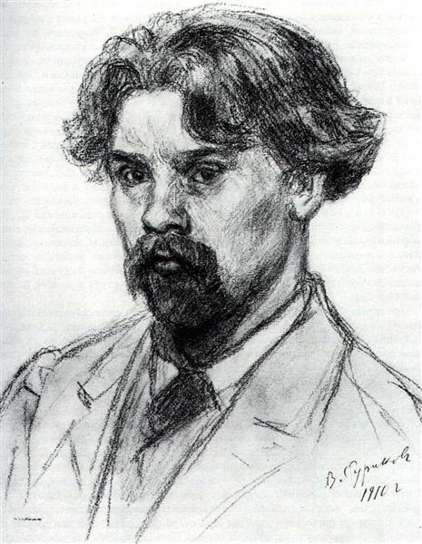 Self-Portrait, 1910 - Vasily Surikov